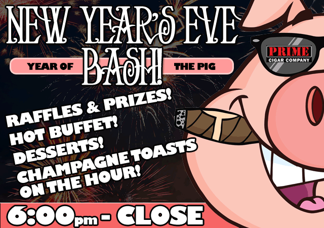 New year's Eve Bash 2018 | 6pm - Close