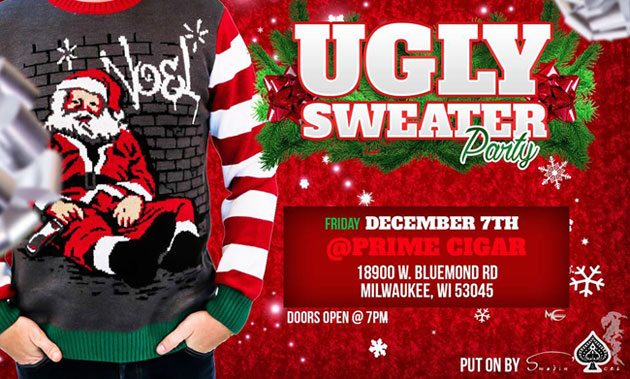 Ugly Sweater Party | Dec. 7, 2018