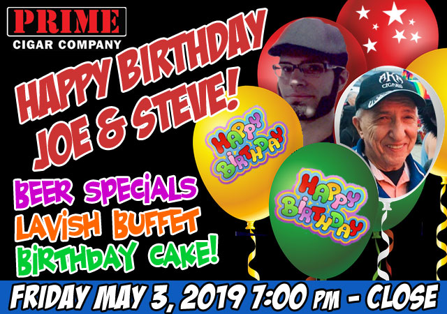 Joe/Steve Birthday 2019