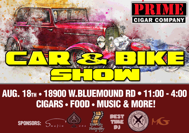 Car & Bike Show | Aug. 18th 2019