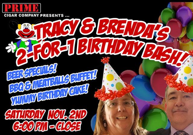 Tracy & Brenda's 2-for-1 Birthday Bash!
